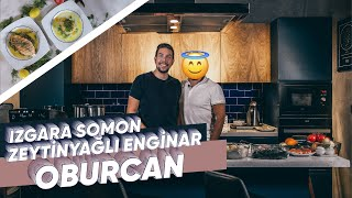 Burak ALKAN ile Gece Yemeleri : Izgara Somon ve Zeytinyağlı Enginar, Oburcan (Bölüm 7) | Osilicious