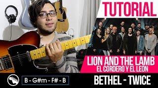 Tutorial  Lion And The Lamb - El Cordero Y El León - Bethel  Intro  Acordes  Solo