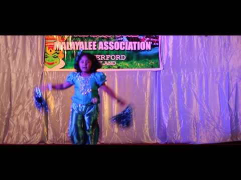 Waterford Malayalee Association 2016,     Single dance -Thamara