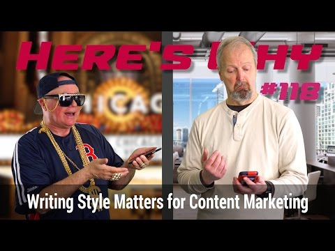 Here's Why Writing Style Matters for Content Marketing