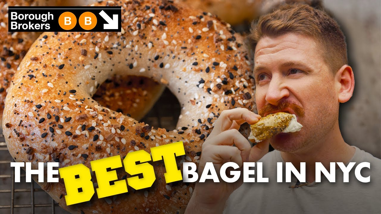 Ranking the BEST Everything Bagels in NYC