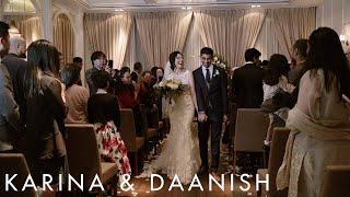 Karina & Daanish | Wedding Highlight | The Thompson Hotel Toronto