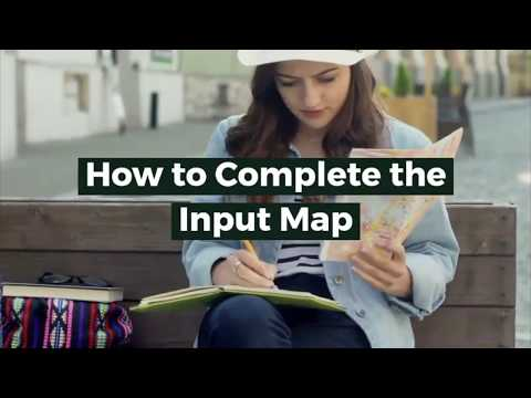 How To Complete The Input Map