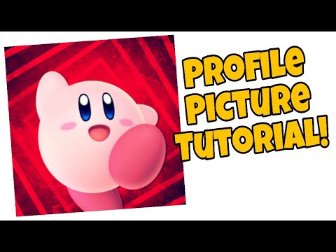 How To Make A Profile Picture! ( Easy And Free!)