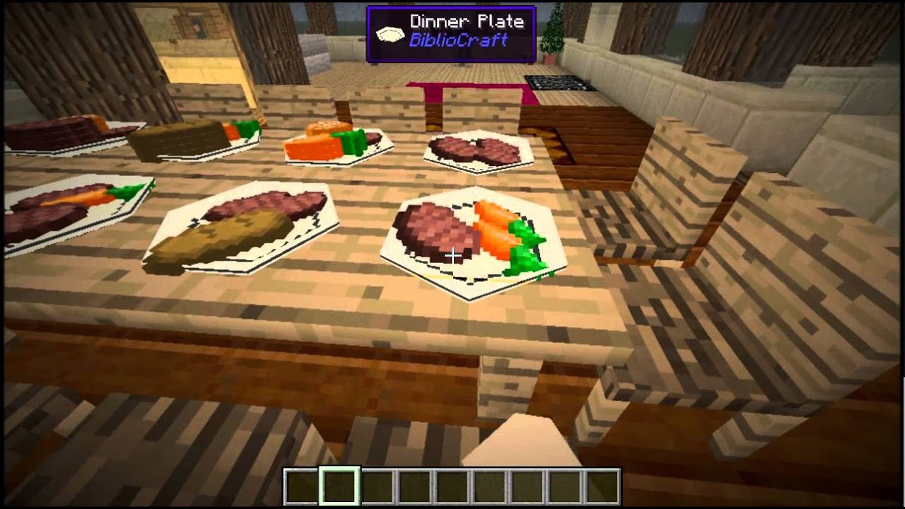 Minecraft Mod Showcase Mrcrayfish Furniture Furniture In Minecraft Youtube