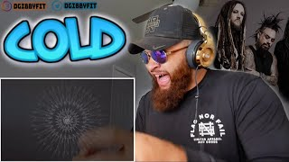 KORN - COLD (Official Visualizer) - FIRST REACTION!