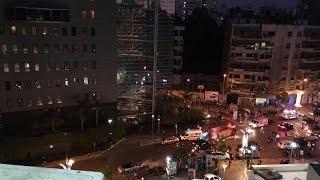 بالصور.. انفجار عنيف يهز بيروت