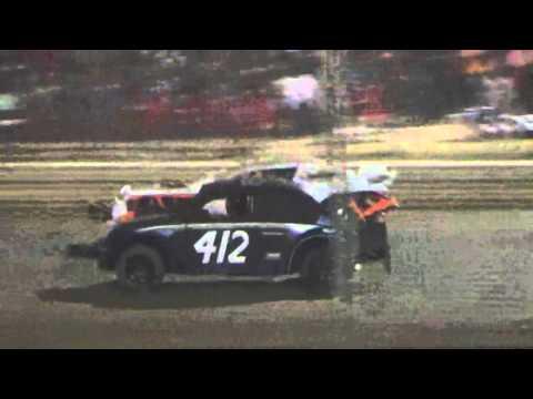 Ark La Tex Speedway V6 Mini Stock VW Bug heat race 9/26/15