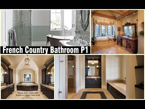 10+ Best French Country Bathroom design ideas P1