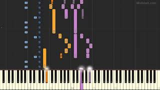 Three Dog Night - Joy to the World (Instrumental Tutorial) [Synthesia]