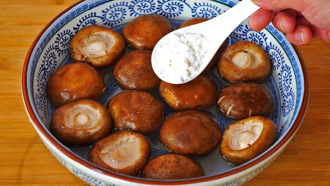 香菇万不可直接用清水洗,等于吃泥土,教你一招,泥土虫卵全跑光Braised Shiitake Mushrooms