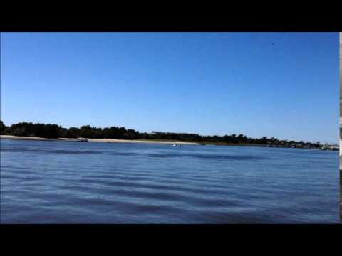 Drone Fly Over Cape Fear River Southport Nc Youtube
