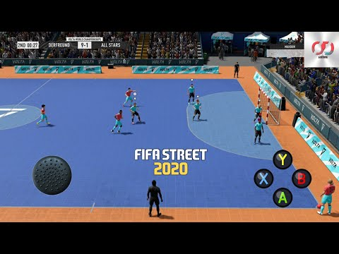 FIFA STREET 2020 PPSSPP Android Offline 80MB Best Graphics New Update 2020.
