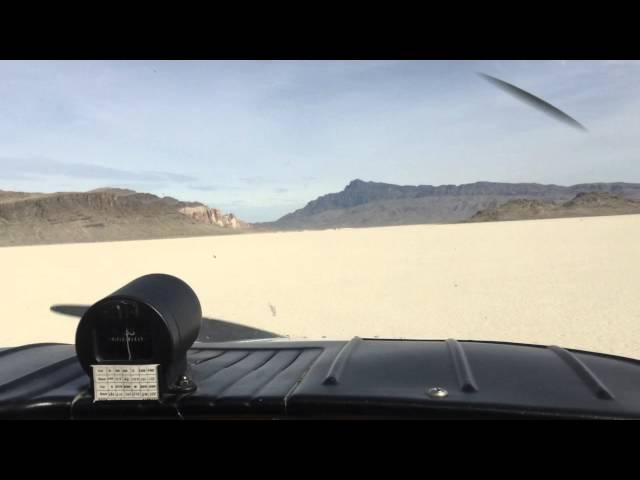Beechcraft musketeer ibex hardpan Utah touch and go.