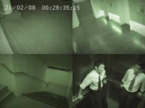 CCTV Caught on Security Camera at a Casino in Macau - GHOST