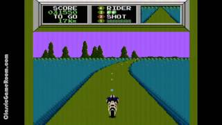 Classic Game Room - MACH RIDER review for NES