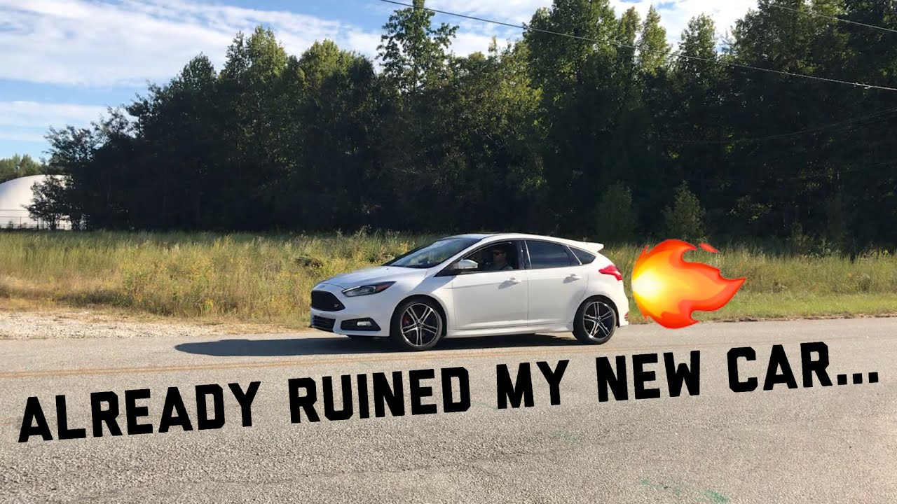 Focus ST Injen Catback Exhaust Review- It's Loud!!!