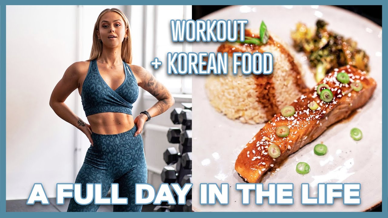 A DAY IN THE LIFE - Sweatparty workout & NEW GYMSHARK!