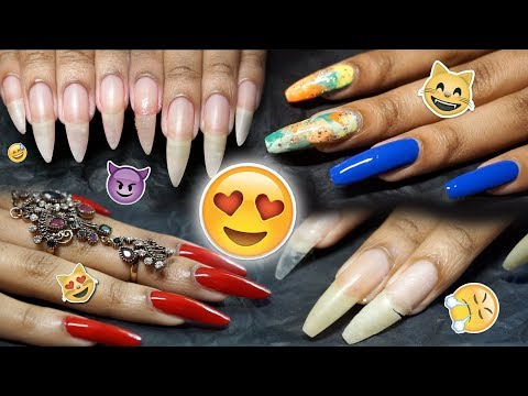 Nail Lover's Compilation 😻💅🏽✨ Nail Care, Art, Hacks, Ring Try-Ons + Maintenance Routines!