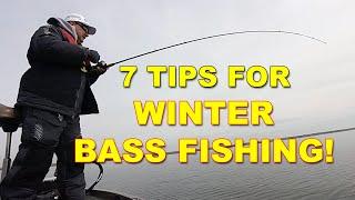 7 Winter Bass Fishing Tips to Catch Stubborn Bass | Bass Fishing