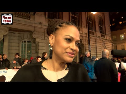 Ava DuVernay Red Carpet Interview at the European Premiere of Selma