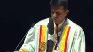 Rahul Dravid Motivational Speech   How to be a Legend