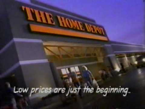 1992 Home Depot Commercial