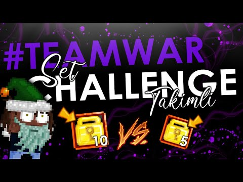 5WL Vs 10WL Set Challenge - Growtopia #TeamWar
