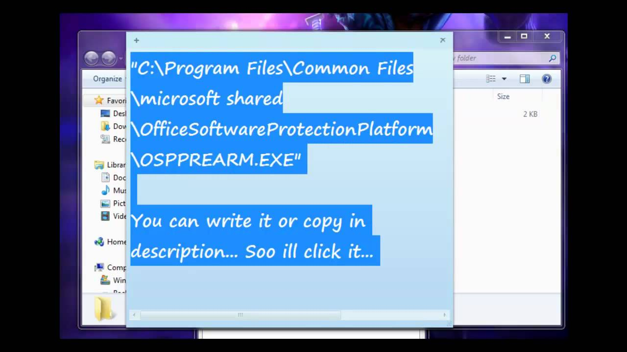 Microsoft Office Trial >> Microsoft Office Trial Reset All Versions