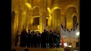 Le chant final (Hubert Henrich), Concert Trompes de Chasse et Orgue, Gien, 31-03-2012