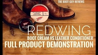 How to use Boot Cream and Leather conditioner | The Boot Guy Reviews