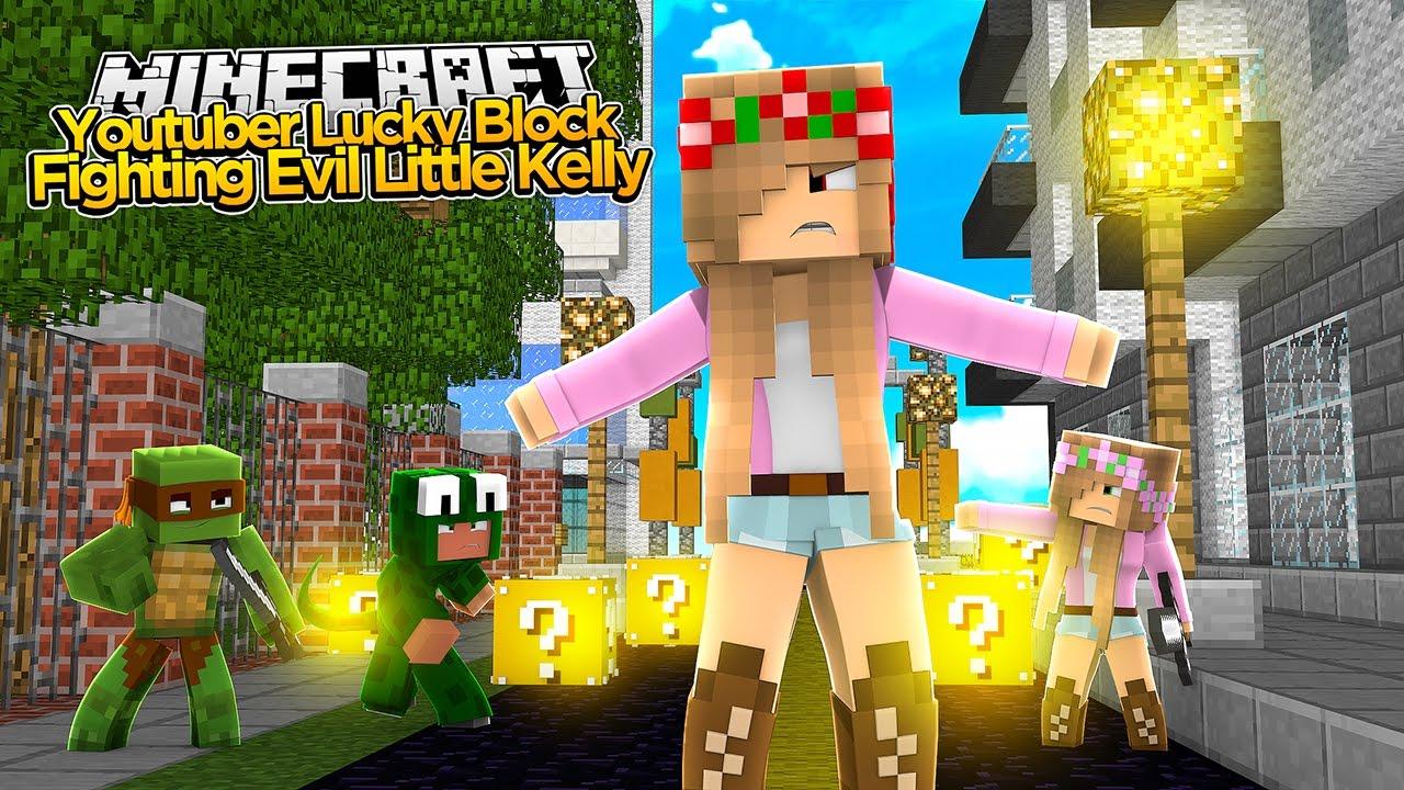 Minecraft Youtuber Lucky Blocks
