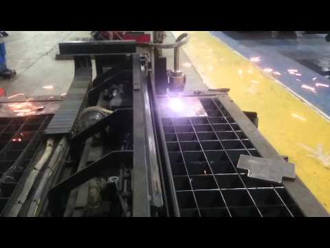 Cutting Test with CR Electronics CNC Plasma Cutter with Hypertherm Max 100
