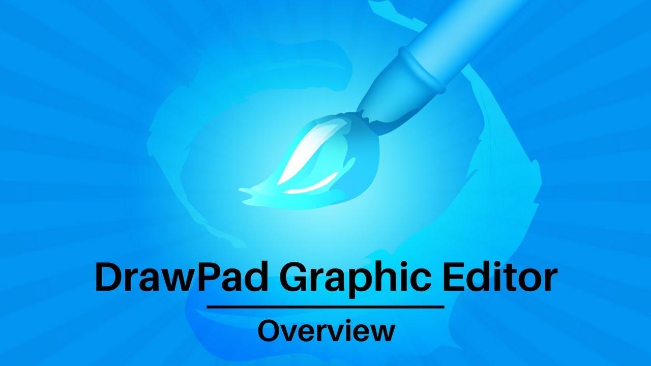 DrawPad Graphics Editor | Overview