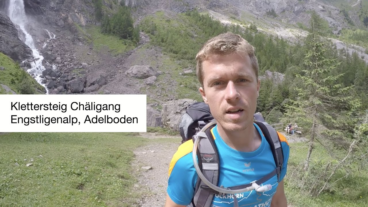 Klettersteig Adelboden : Chäligang klettersteig via ferrata engstligenalp adelboden