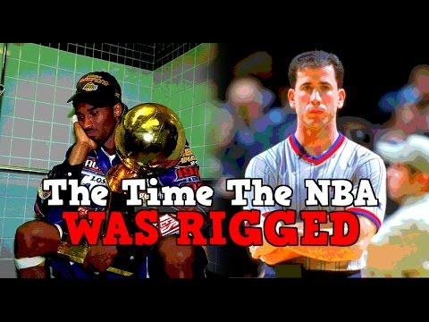 The Time That The NBA Was ACTUALLY RIGGED