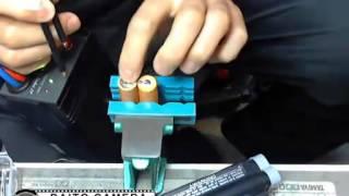 Repeat youtube video バッテリーパックの中身交換、スポット溶接編