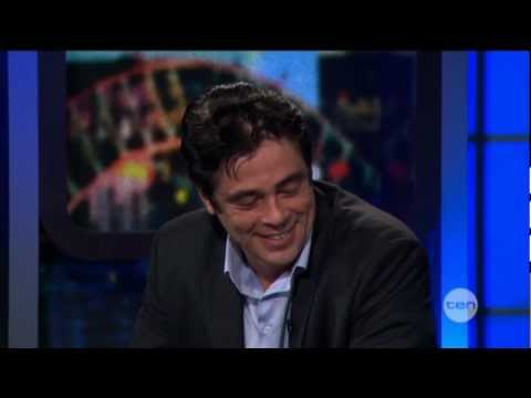 Benicio Del Toro interview on The Project (2012)