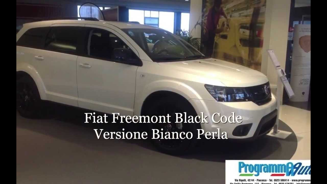 programma auto piacenza fiat freemont black code youtube. Black Bedroom Furniture Sets. Home Design Ideas