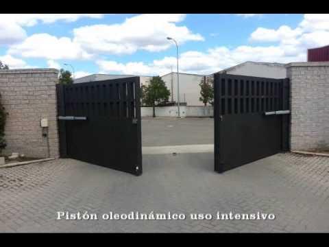 Puerta batiente de dos hojas youtube - Puertas de dos hojas ...
