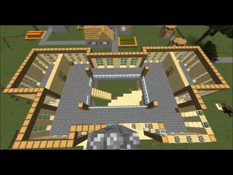 Minecraft | PvP Factions Server Pt 2 - Mansion Timelapse!