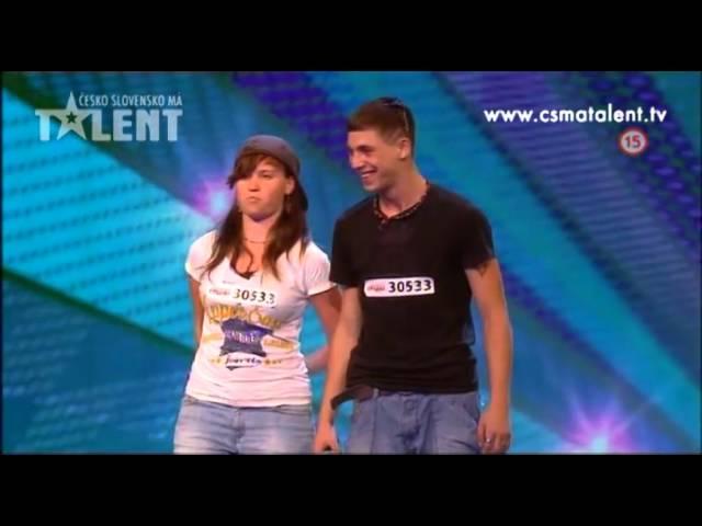 Reppy a Sharkass | ?esko Slovensko má talent 2012