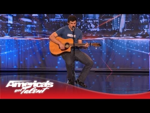 Paul Thomas Mitchell aka Tommy Mitchell Sings an Original  for His Dad  America's Got Talent
