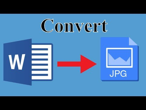 How To Convert  Word Doc To JPEG (Easily) Step By Step Guide