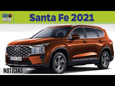 Hyundai Santa Fe 2021 Todo Lo Que Debes Saber Car Motor Youtube