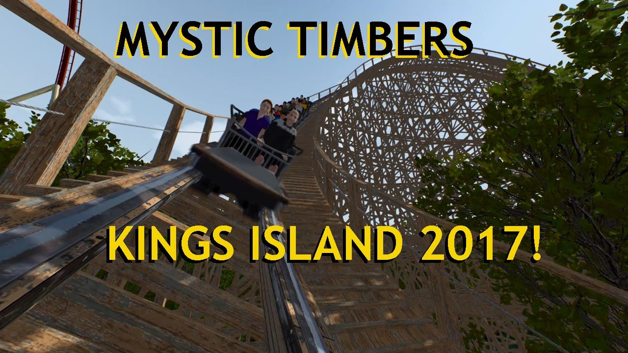 Kings island mystic timbers coming in 2017 new roller coaster offride pov gci custom woodie