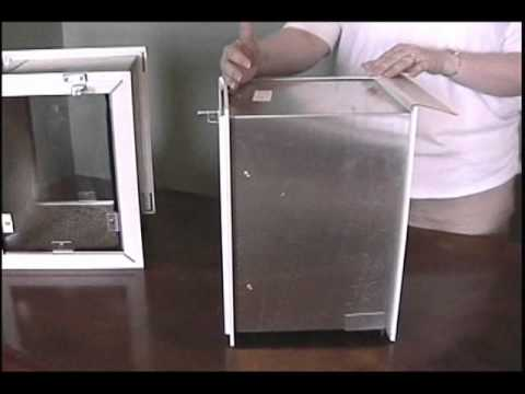 Hale Pet Door Wall Dog Door Product Information Youtube