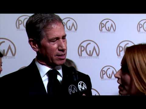 Jon Feltheimer, Milestone Award Honoree, on the PGA Red Carpet