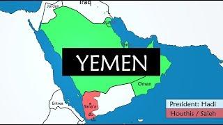 Yemen - summary of 28 years of history