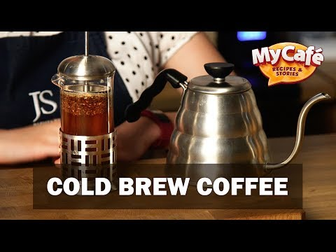 Cold Brew Coffee Recipe from My Cafe and JS Barista Training Center